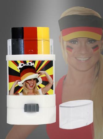 German Fanmarker Make up Set