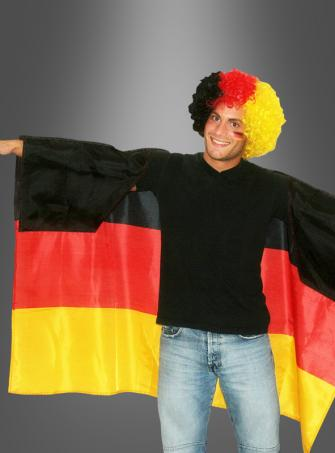Germany Flag Poncho