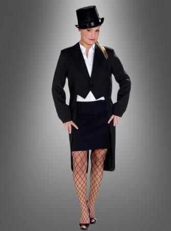 tailcoat costume black