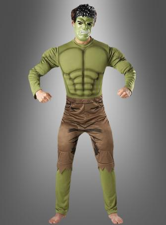The Incredible Hulk costume adult