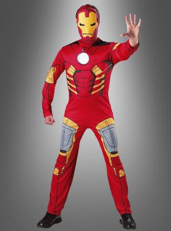Iron Man Kostüm Avengers mit Muskeln