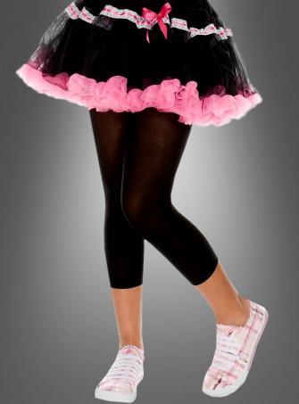 Schwarze Kinder Leggings