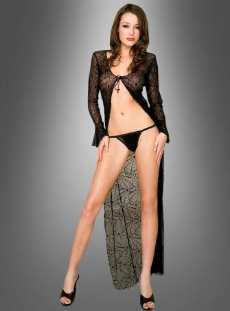Spiderweb Lace Robe