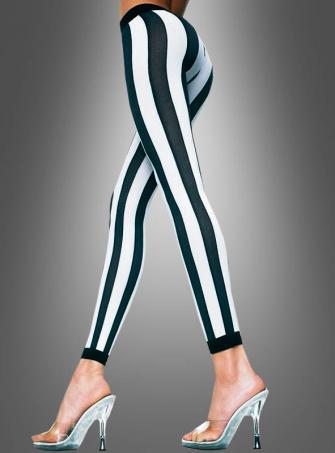 Vertical Stripes Leggings