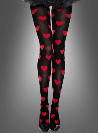 Tights with Hearts