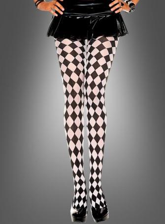 Clown Harlekin Strumpfhose