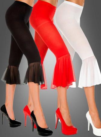 Sexy Leggings black white red