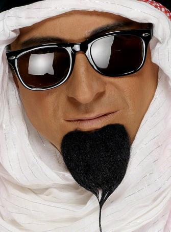 Araber Ölscheich Bart