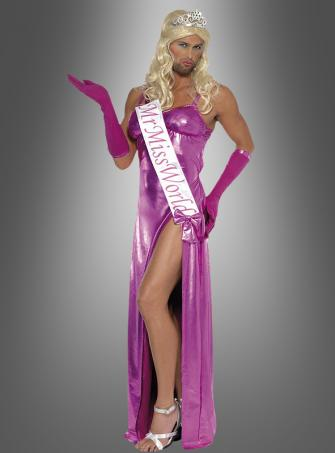 Mr Miss World costume pink