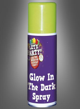 Glow in the Dark Spray neon green