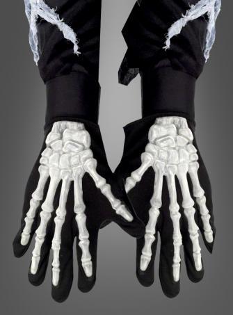 3-D Skelett Handschuhe für Erwachsene