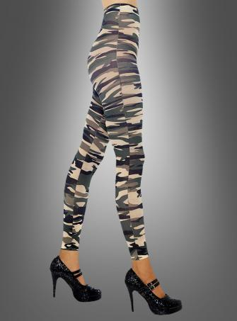 Leggings Tarnfarben