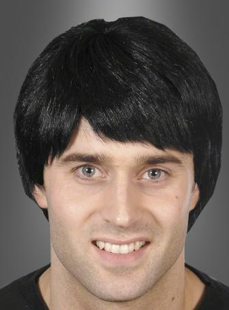 Black Short Wig for Men