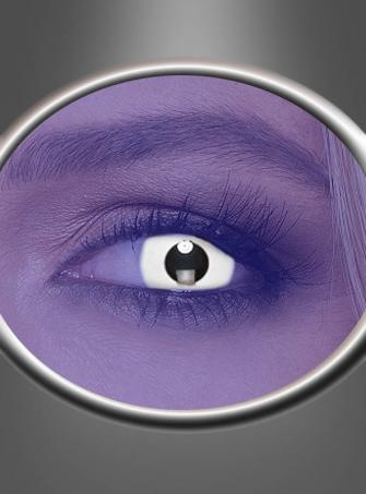 One-Day Contact Lenses UV Flash White
