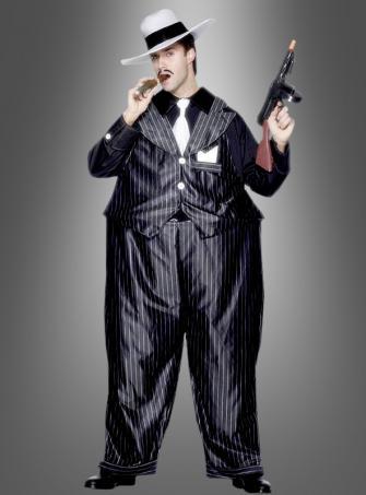 Al Capone Fat Gangster MafiaKostüm