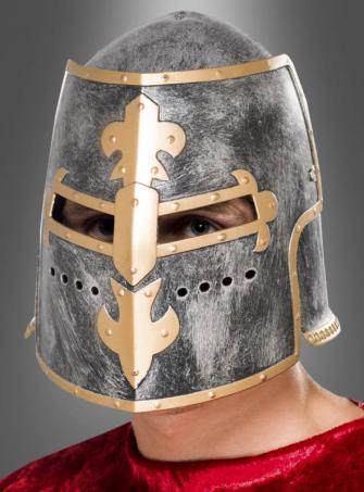 Ritterturnier Helm mit Visier