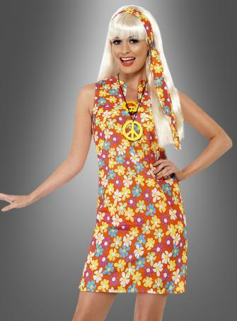 Flower Dress 70s
