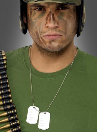 Dog Tags Soldier