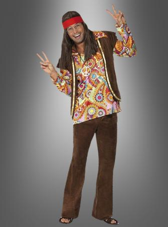 Psychedelic 1960s Hippie costume