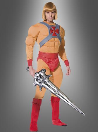 He-Man Prinz Adam Muskel Kostüm Erw.