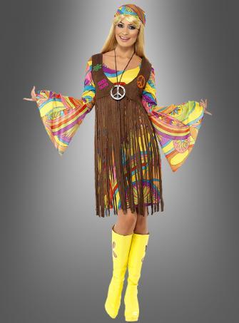Hippiekostüm Sunny für Damen