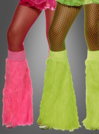 Plush Neon Bootcovers