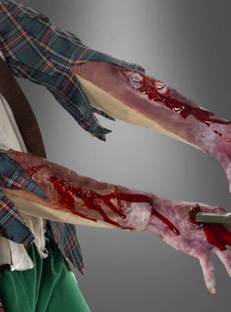Zombie Wunde Armstulpe