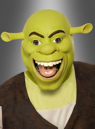 Shrek Latex Full Mask