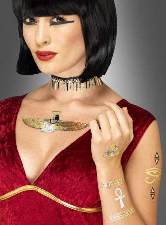 Cleopatra Egyptian Transfer Tattoos