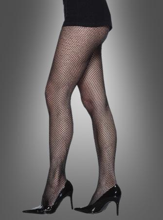 Tights fishnet black