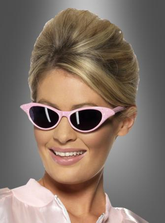 Rosa Sonnenbrille Rock and Roll