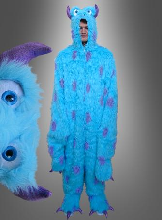 Blue Plush Monster Adult