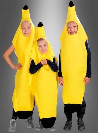 Bananenkostüm für Kinder