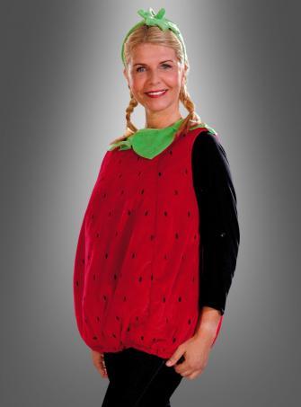 Süße Erdbeere Kostüm für Erwachsene
