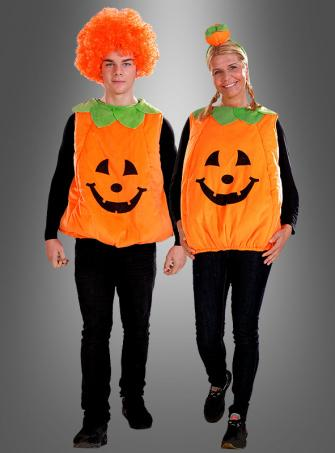 Pumpkin Costume adult with Headpiece