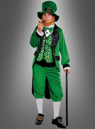 Irischer Kobold Herrenkostüm Leprechaun