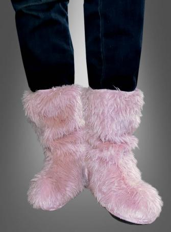 Sassy Faux Fur Boot Covers