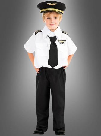 Kleiner Pilot Kinderkostüm