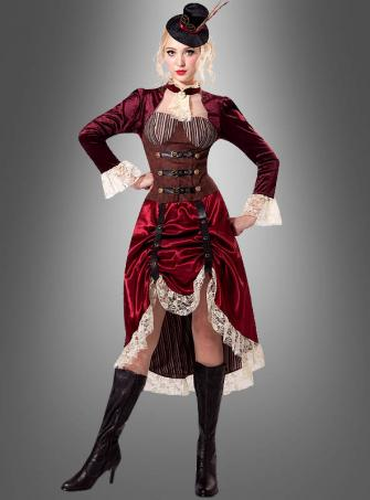 Steampunk Lady Dress Viktoria