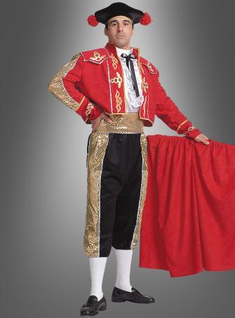 Spanischer Stierkämpfer Kostüm