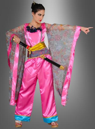 Geisha Warrior lady costume