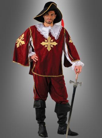 Musketeer Costume red