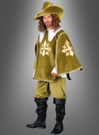 Musketeer green costume