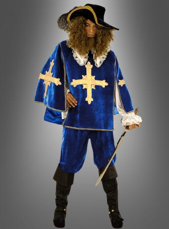 Musketeer costume blue