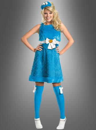 Sexy Cookie Monster adult costume