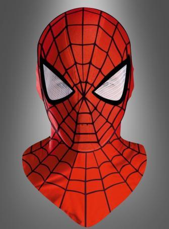 Spiderman Maske Deluxe für Erwachsene
