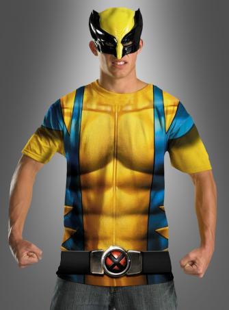 Wolverine Shirt und Maske