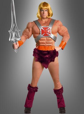 He-Man Deluxe mit Perücke
