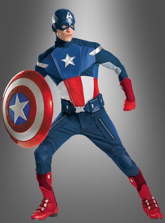 Captain America Super Deluxe Kostüm
