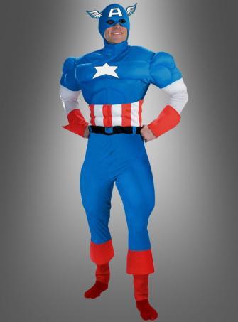 Deluxe Captain America Kostüm